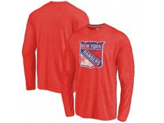 Tričko Primary Logo Tri-Blend Long Sleeve Rangers