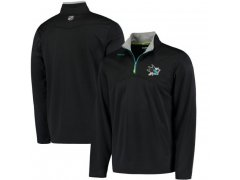 Mikina Center Ice Quarter-Zip Baselayer Sharks