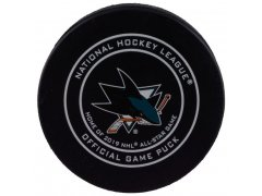 Puk Official Game Puck Sharks