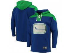 Mikina NHL Breakaway Lace Up Canucks