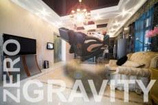 Nulová gravitace u masážního křesla pro dokonalý relax