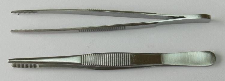 Pinzeta anatomická 13 cm