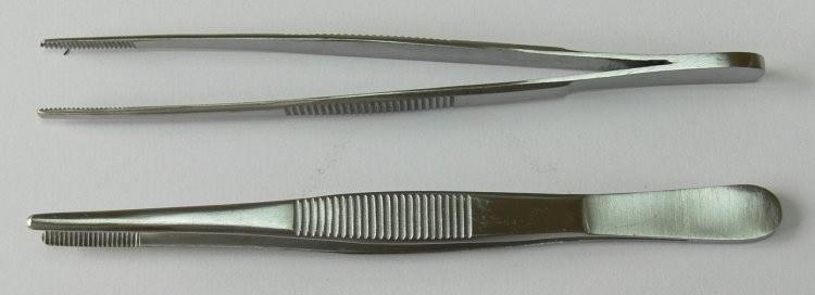 Pinzeta anatomická 14 cm