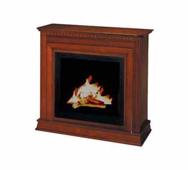 Volně stojící krb Firenza Wood light