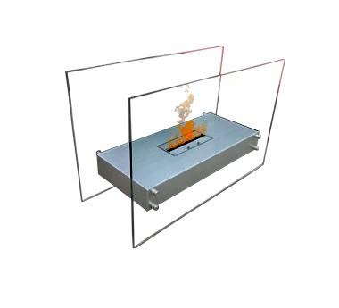 Volně stojící krb Signa 110 G - Biokrby Stojící biokrby