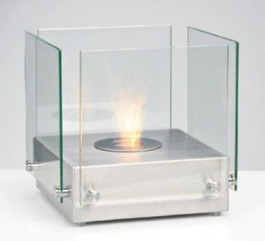 Volně stojící krb Cubo Glass 2 - Biokrby Stojící biokrby