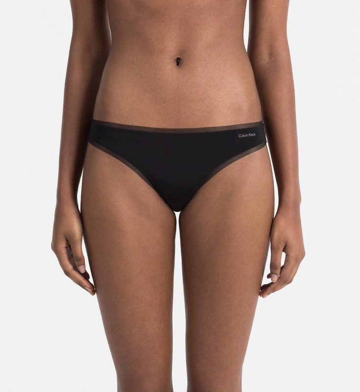 Tanga QF1666E-001 černá - Calvin Klein