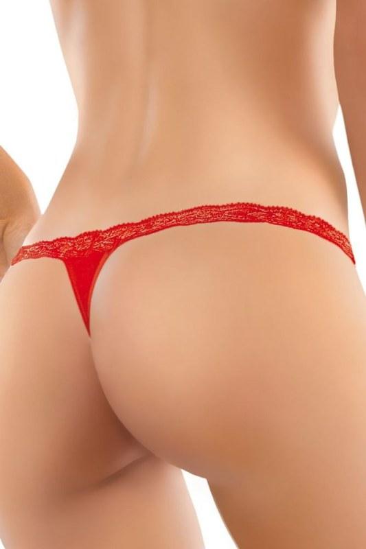 Dámská tanga 83 červená