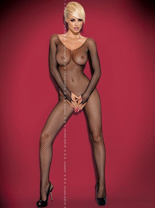 Body Bodystocking N109 - Obsessive - Erotické prádlo body