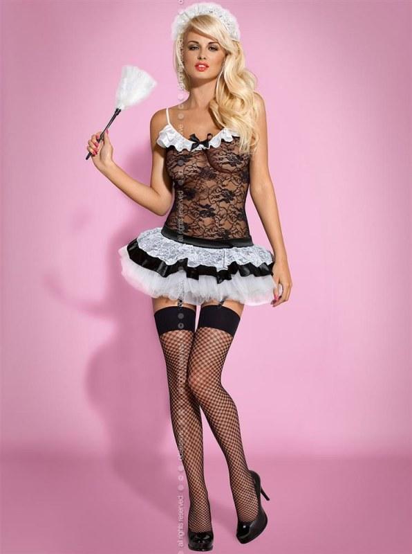 Sexy kostým Housemaid - Obsessive - Erotické prádlo kostýmy