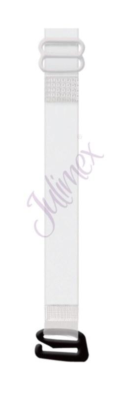 Silikonová ramínka s kovovými háčky RT 04  10 mm