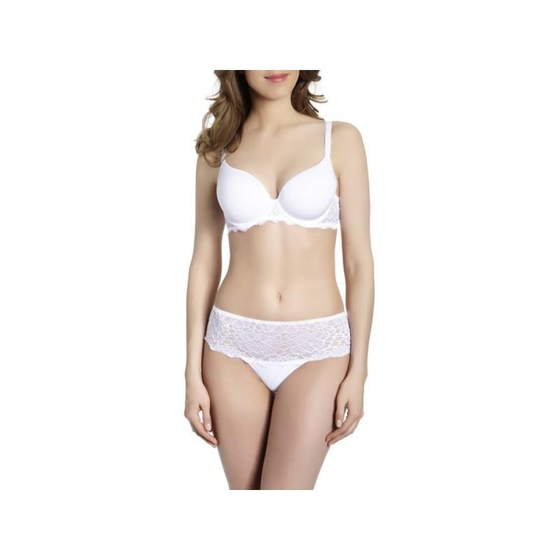 Podprsenka Caresse 12A316 bílá - Simone Péréle - Luxusní prádlo Podprsenky