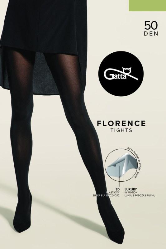Dámské punčochové kalhoty FLORENCE 50 3D, 50 DEN - GATTA
