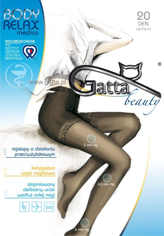Dámské punčochové kalhoty BODY RELAXMEDICA 20 DEN - GATTA