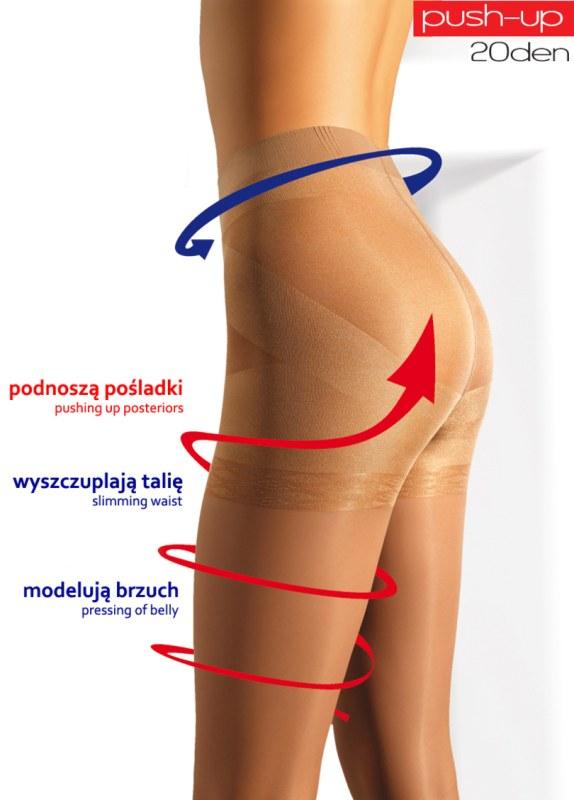 Punčochové kalhoty PUSH-UP 20 - MONA