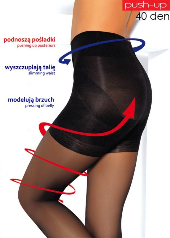 Punčochové kalhoty PUSH-UP 40 - MONA