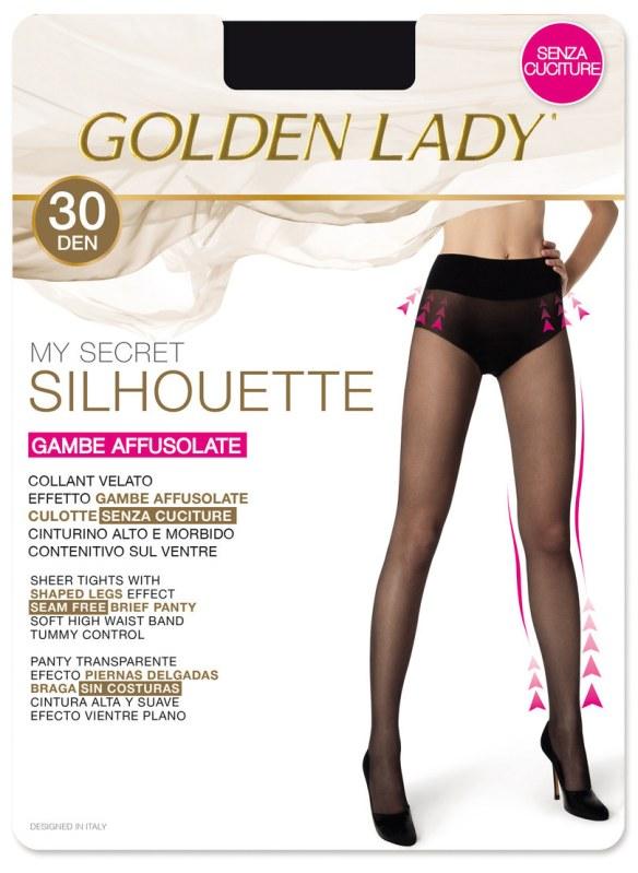 Dámské punčochové kalhoty MY SECRET SILHOUETTE 30 - GOLDEN LADY
