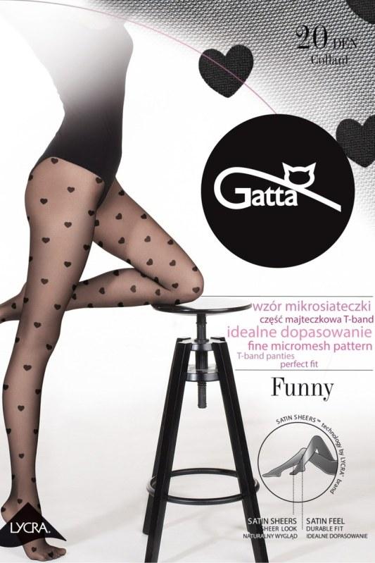 FUNNY -08 Dámské punčochové kalhoty - GATTA