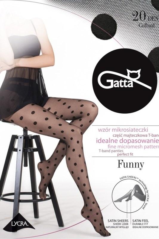 FUNNY - 07 Dámské punčochové kalhoty - GATTA