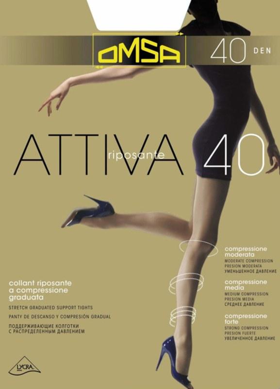 Dámské punčochové kalhoty Attiva 40 - OMSA