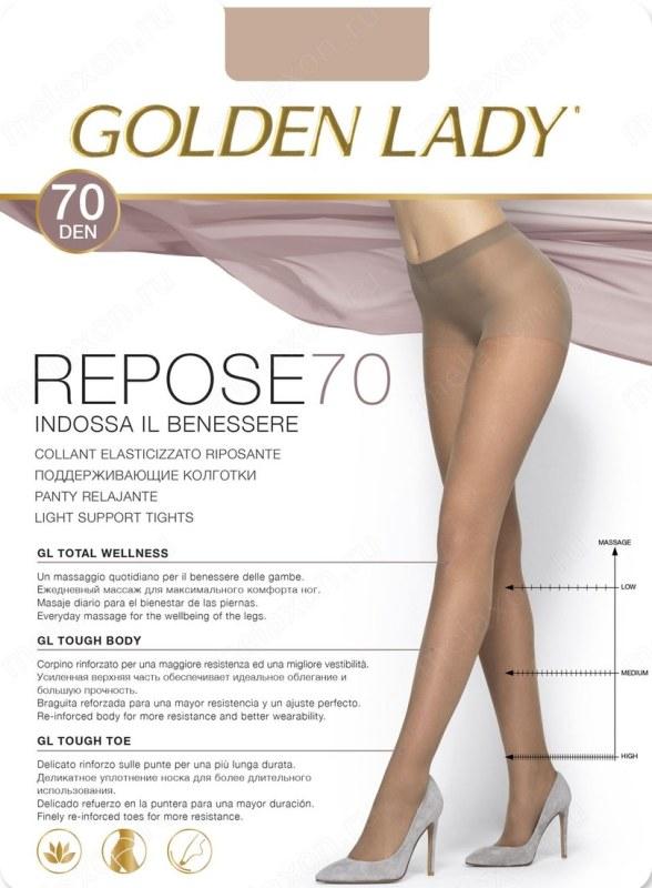 Punčochové kalhoty Repose 70 DEN - GOLDEN LADY