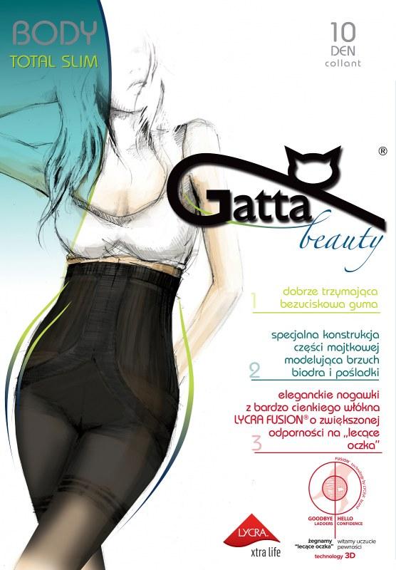 Punčochové kalhoty Gatta Body Totalslim Fusion 10 den