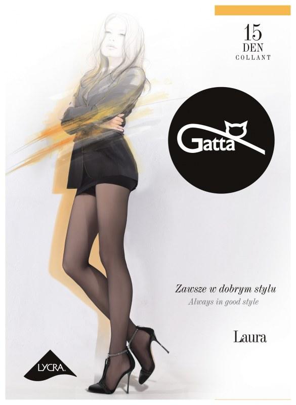 Punčochové kalhoty Gatta Laura 15 den 6-XXL