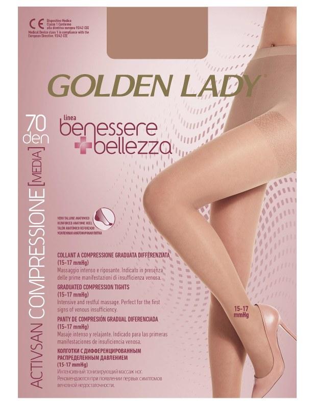 Punčochové kalhoty Golden Lady Benessere 70 den
