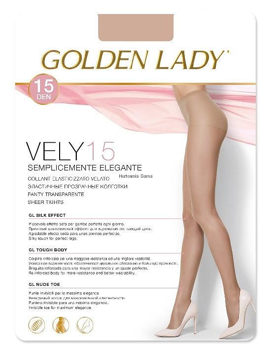 Punčochové kalhoty Golden Lady Vely 15 den