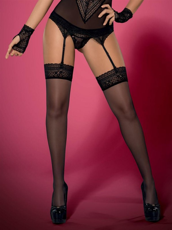 Punčochy Picantina stockings XXL - Obsessive