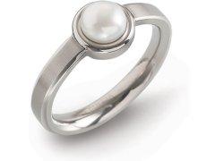 Boccia Titanium Titanový prsten s perlou 0137-01 64 mm