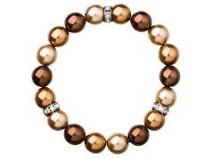 Evolution Group Elegantní perličkový náramek 33061.3