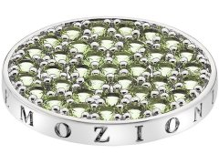 Hot Diamonds Přívěsek Emozioni Scintilla Peridot Nature EC348_EC349 25 mm