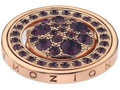Hot Diamonds Přívěsek Hot Diamonds Emozioni Alba e Tramonto Rose Gold Coin EC247-253 33 mm