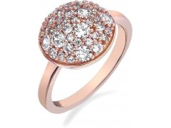 Hot Diamonds Prsten Emozioni Laghetto Bouquet Rose Gold ER012 51 mm