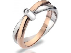 Hot Diamonds Prsten Eternity Interlocking DR112 54 mm