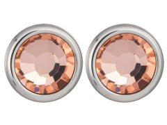 Preciosa Náušnice Carlyn s krystalem Apricot 7235 49