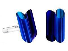 Preciosa Ocelové manžetové knoflíčky s krystaly Neon Collection by Veronica 7307 70