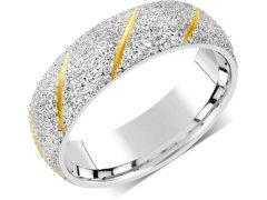 Silvego Snubní prsten pro muže i ženy z oceli RRC22799 67 mm