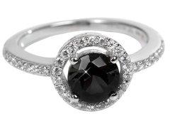 Silver Cat Stříbrný prsten s krystaly SC163 60 mm