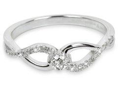 Silver Cat Stříbrný prsten se zirkony SC195 54 mm