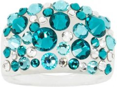 Troli Prsten Bubble Blue Zircon 59 mm