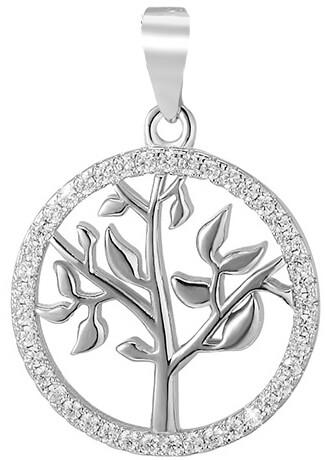 Beneto Stříbrný přívěsek Strom života AGH96
