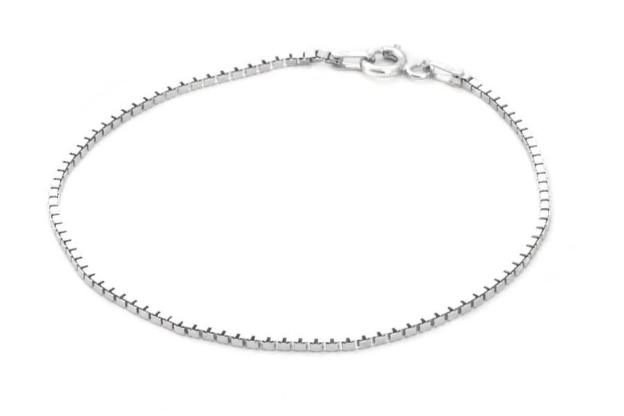Beneto Stylový stříbrný náramek Venezia AGB196 17 cm