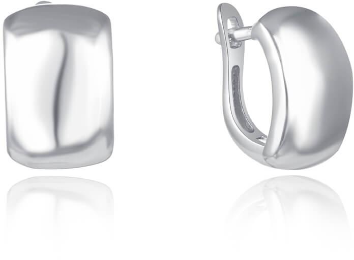 Beneto Úchvatné stříbrné náušnice AGUC2268