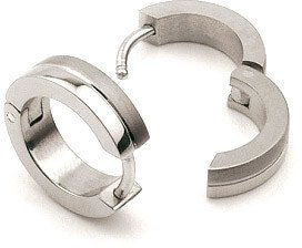Boccia Titanium Náušnice z titanu 0510-02 - Šperky Náušnice