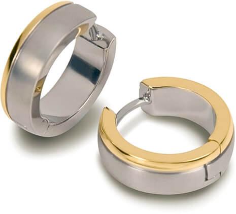 Boccia Titanium Náušnice z titanu 0539-12 - Šperky Náušnice