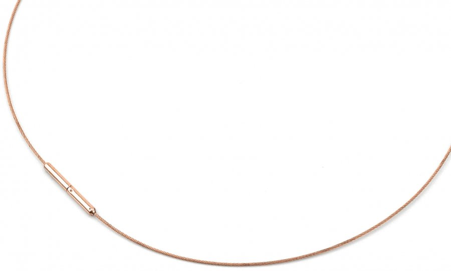 Boccia Titanium Ocelové lanko 0802-03 45 cm - Šperky Řetízky