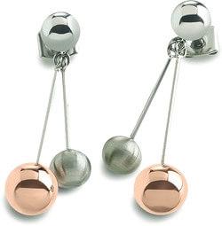 Boccia Titanium Originální titanové náušnice 0589-02 - Šperky Náušnice