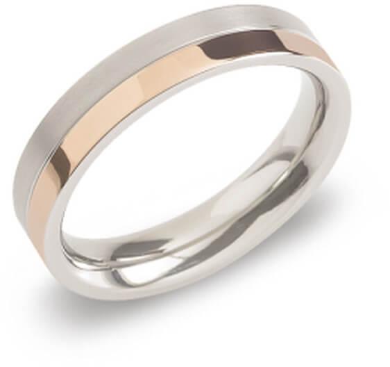 Boccia Titanium Pozlacený titanový snubní prsten 0129-07 59 mm
